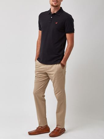 POLO-LHAMA-STRETCH-NS-V20-PRETO