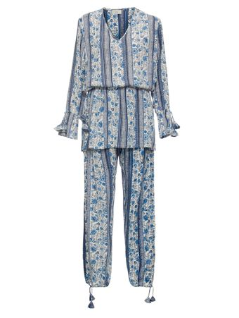 PIJAMA-ML-INDIAN-AZUL
