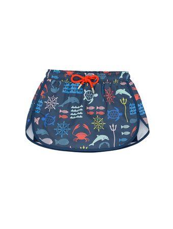 Shorts-Saia-Bambini-Nettuno-Azul-Marinho