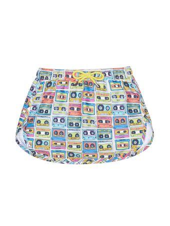 Shorts-Saia-Bambini-La-Musica-Estampado