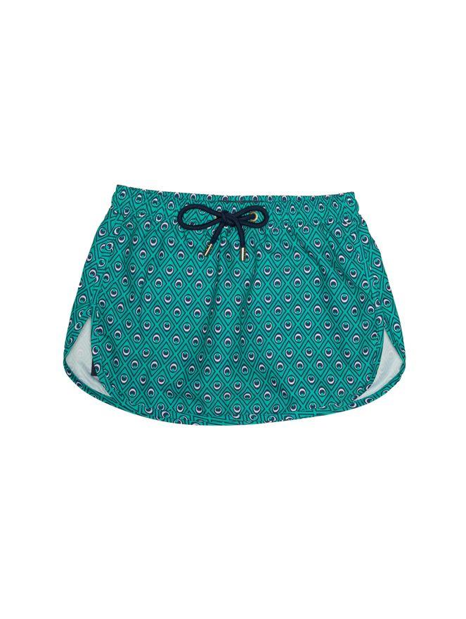 Shorts-Saia-Bambini-Occhi-Verdi-Verde