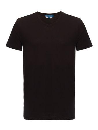 camiseta-gola-v-preta