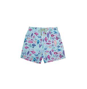 Shorts-Bambini-Mare-Multicolore-Verde-Agua