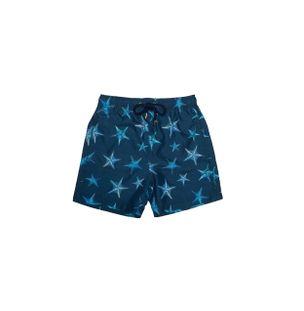 Shorts-Bambini-Stella-di-Mare-Azul-Marinho