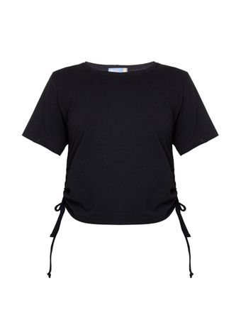 Camiseta-Franzida-Preta