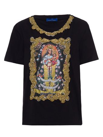 Camiseta-Nossa-Senhora-Rosario-Preta