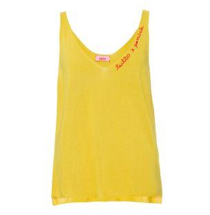 Blusa-Decote-V-Amarela