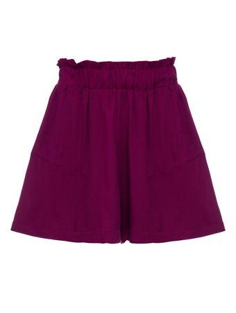 Shorts-Curto-Nazare-Roxo