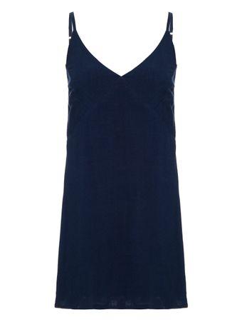 Vestido-Mini-Alcas-Finas-Lagos-Azul-Marinho