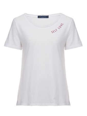Camiseta-Manga-Curta-Self-Love-Off-White
