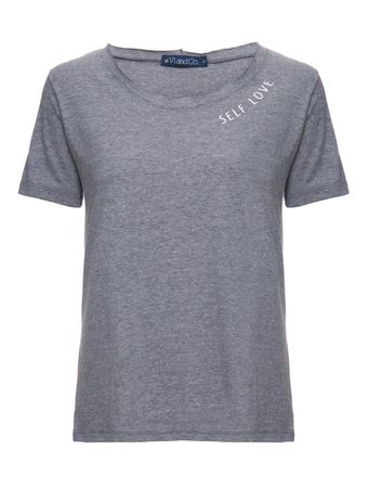 Camiseta-Manga-Curta-Self-Love-Cinza