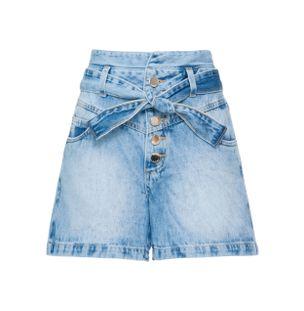 Shorts-Cintura-Alta-Jeans-Azul