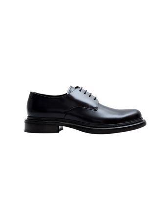 Sapato-de-Couro-Azul-Marinho