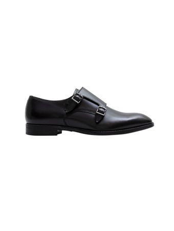 Sapato-Fivelas-de-Couro-Preto