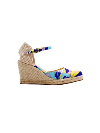 Sandalia-Wedges-Estampada