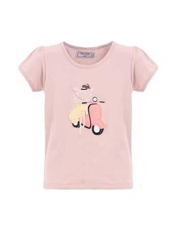 CAMISETA-LAMBRETA-KIDS-BABY-ROSE