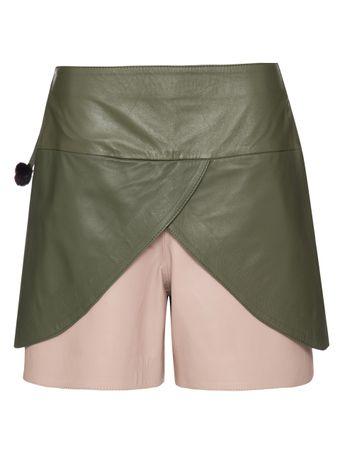 Shorts-Saia-de-Couro-Bicolor