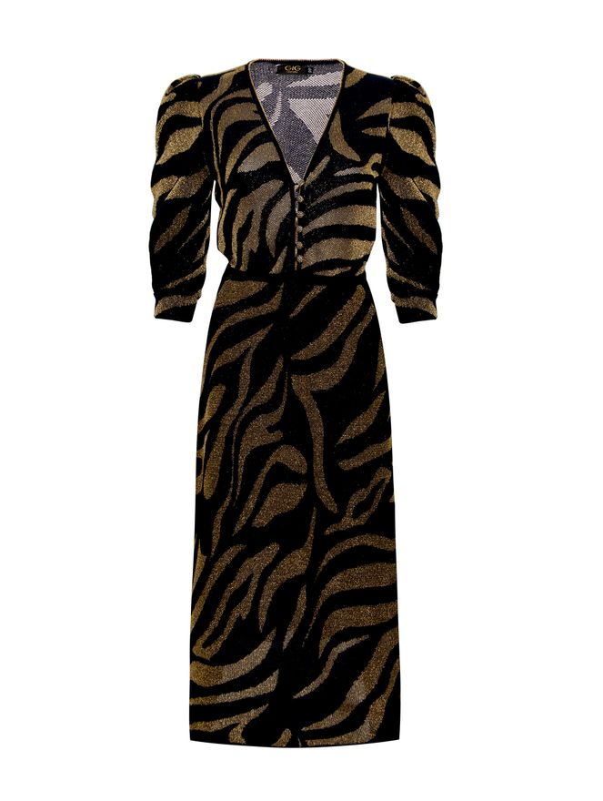 Vestido-de-Lurex-Bicolor