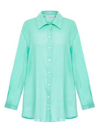 Camisa-European-De-Algodao-Verde