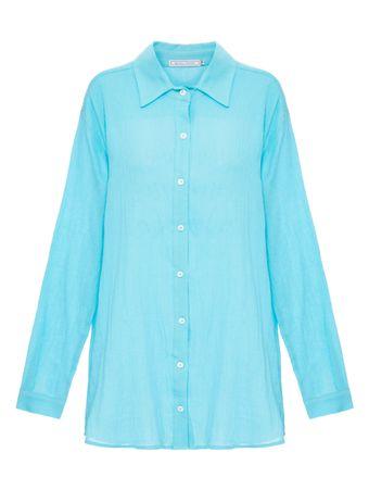 Camisa-European-De-Algodao-Azul