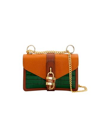 BOLSA-ABY-CHAIN-SHOULDER-BAG-BROWN--GREEN-1