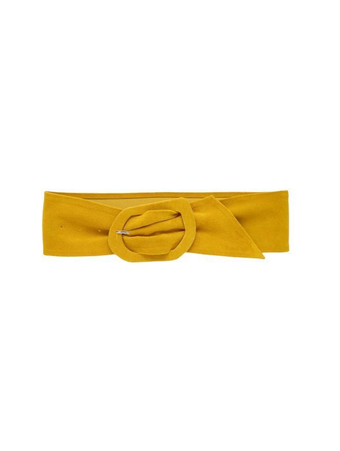 Cinto-de-Camurca-Amarelo