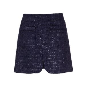Saia-Mini-Tweed-Azul