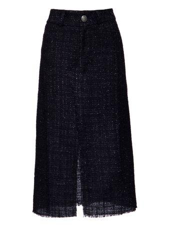 Saia-Midi-Tweed-Azul