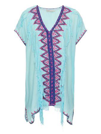 Tunica-Marrocos-Azul