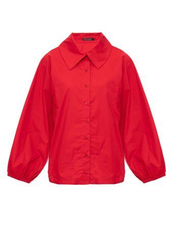 Camisa-Over-Size-Vermelha