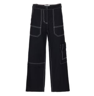 CALCA-SLIM-DENIM-CARGO-PANT-BLACK