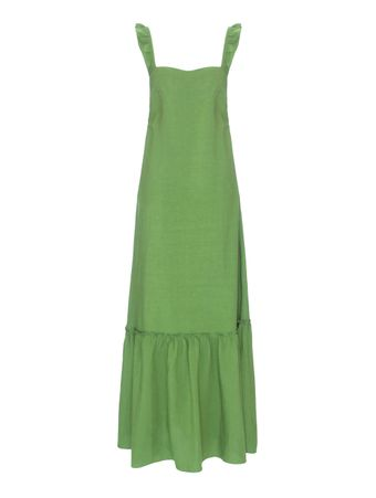 Vestido-Longo-Tucepi-Verde