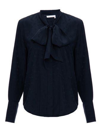 Camisa-Ultramarine-de-Seda-Azul