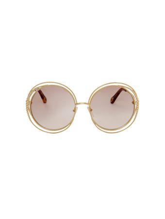 Oculos-de-Sol-Carlina-Chain-Marrom
