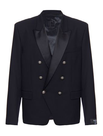PALETO-TAILORING-FIT-DBL-BREASTED-STRETC-0-BLACK