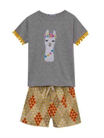 Pijama-Lhama-Amarelo