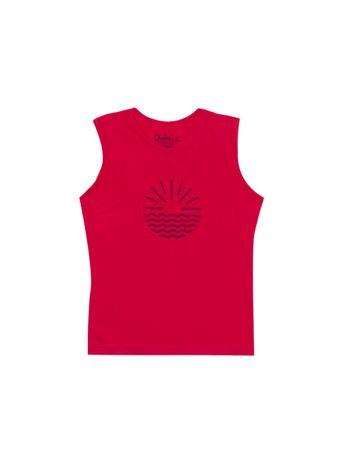 Camiseta-Por-do-Sol-de-Algodao-Rosa