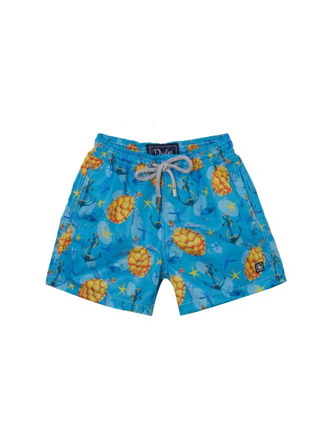 Shorts-Tartaruga-Estampado