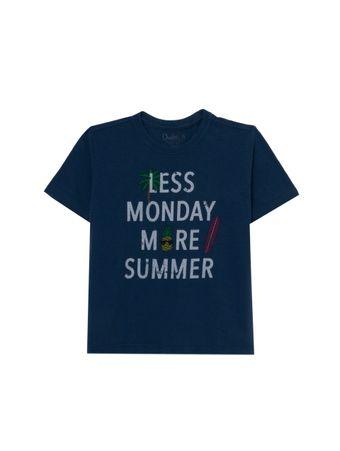 Camiseta-Less-de-Algodao-Azul