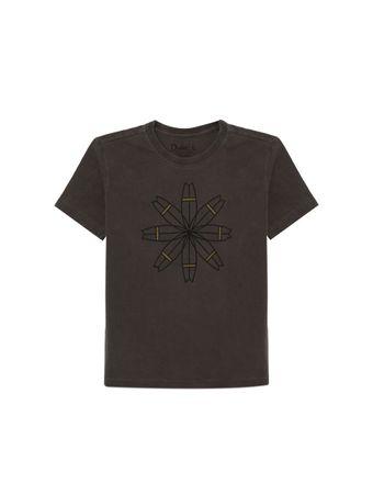 Camiseta-Mandala-de-Algodao-Cinza