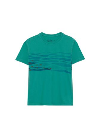 Camiseta-Peixes-de-Algodao-Verde
