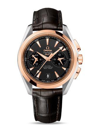 Relogio-Seamaster-Aqua-Terra-CoAxial-GMT-Chronograph-43mm