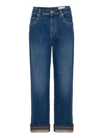 Calca-Jeans-de-Algodao-Azul
