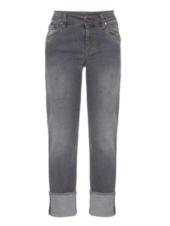 Calca-Jeans-de-Algodao-Cinza
