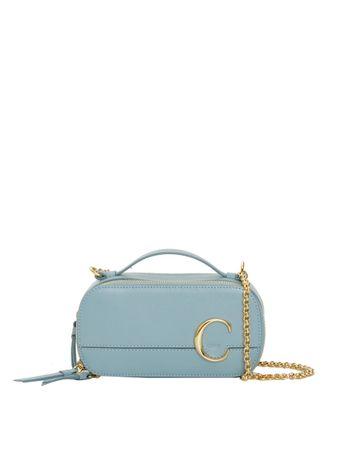 Bolsa-Mini-Oval-Azul