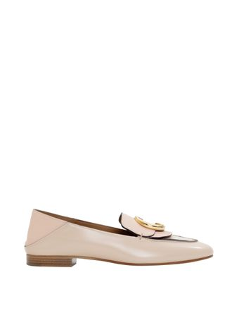 Loafer-Couro-Rosa