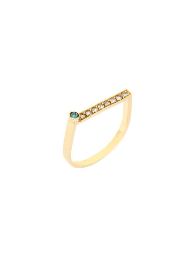 Anel-Pyramide-Diamantes-Cinza-e-Azul-de-Ouro