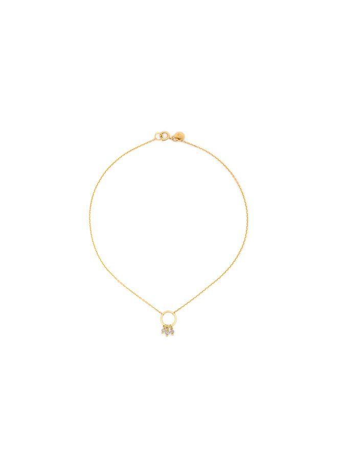 Tornozeleira-Diamant-Brut-de-Ouro
