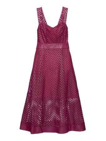 Vestido-Folhas-de-Couro-Roxo