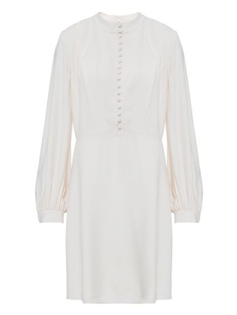 Vestido-Pristine-de-Seda-Off-White